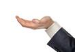 Male open hand