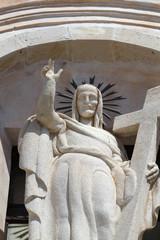 Chiesa sant'Agostino in taormina(detail)