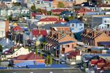 Suburban houses, Hobart, Tasmania, Australia