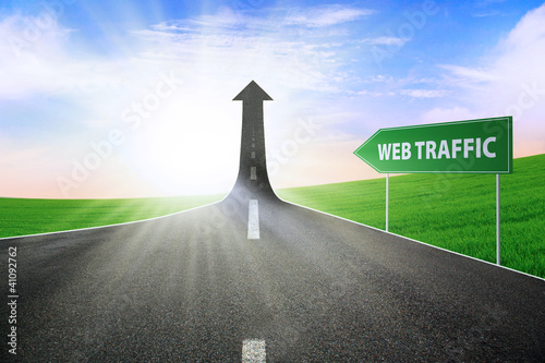 The way to improve web traffic