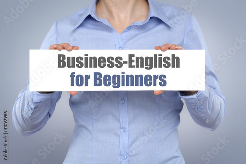 Business-Englisch for Beginners!