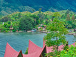 Samosir Island on Lake Toba, Sumatra