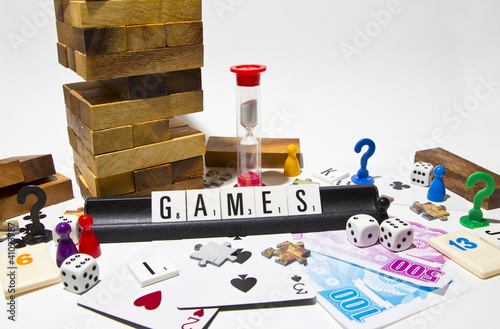 set of many games - 41093787