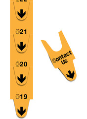 Turn tickets - contact us concept