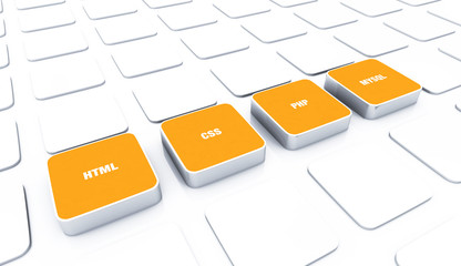 3D Pads Orange - HTML CSS PHP MYSQL 5
