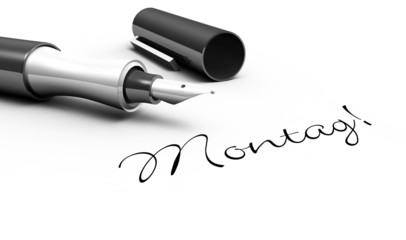 Montag - Stift Konzept