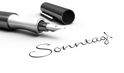 Sonntag - Stift Konzept
