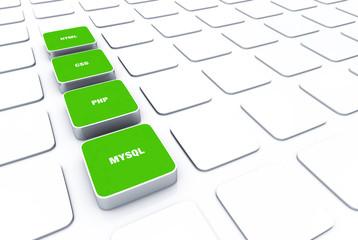 3D Pads Grün - HTML CSS PHP MYSQL 6