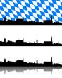 Panorama von Straubing, Bayern