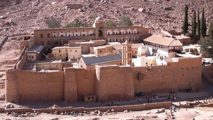 Monasterio de Santa Catalina en la península del Sinaí, Egipto.