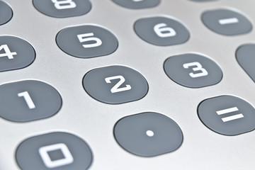numeri della calcolatrice - calcuator numbers