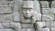 Detalle ruinas de Copán. Honduras