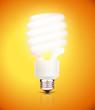 classy energy saving compact fluorescent lightbulb