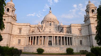 Victoria Memorial de Calcuta en Bengala Occidental, India