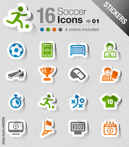 Stickers -  Soccer Icons