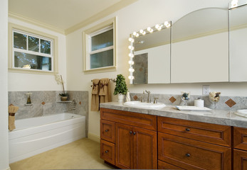 large modern bathroom