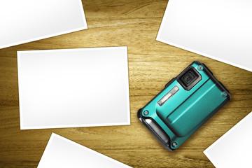 digital compact blank photos