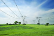 energy and high voltage powerline - 41114921