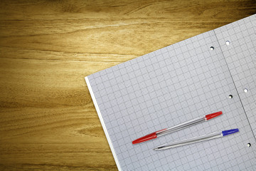 graph paper and pens