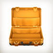 Open Suitcase, vector