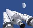 Leinwanddruck Bild - rocket