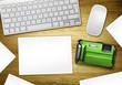 blank photo desktop