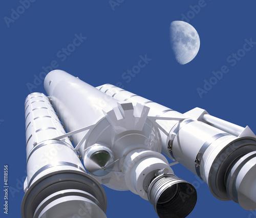 Leinwanddruck Bild rocket