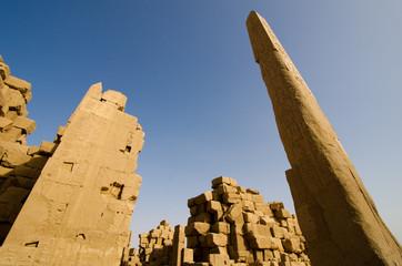 Karnak Temple egyptian obelisk