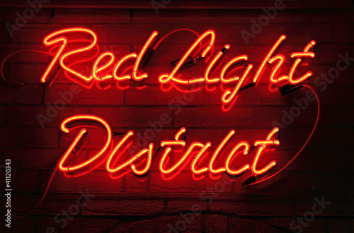 Poster Red Light District