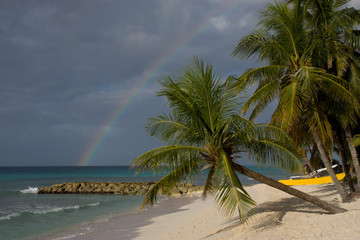 Rainbow in Barbados