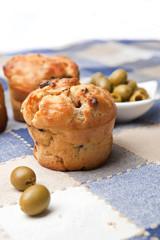 Olive muffins
