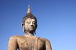 Old buddha in Sukhothai Historical Park, Thailand.