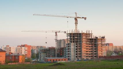 construction site timelapse