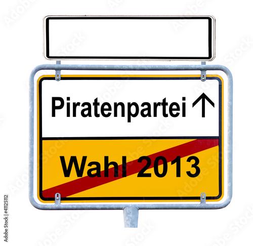 Piratenpartei Wahl Bundestagswahl 2013