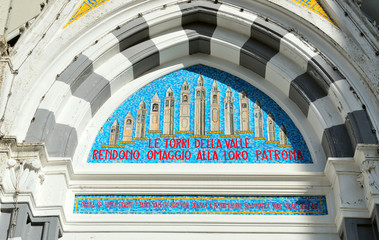Il santuario della Madonna di Guadalupe