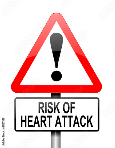 Heart attack risk.