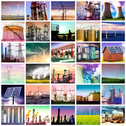 kolaż energetyczny