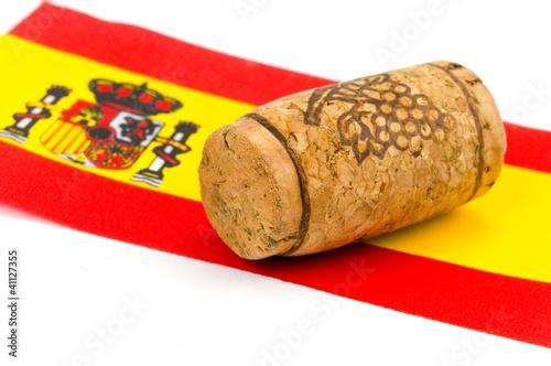 canvas print picture Spanischer Wein