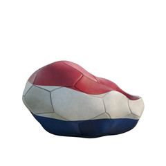 netherland deflated soccer ball
