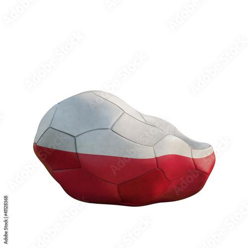 poland deflated soccer ball