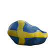 sweden deflated soccer ball