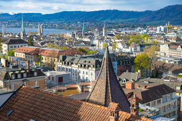 Zurich in the morning