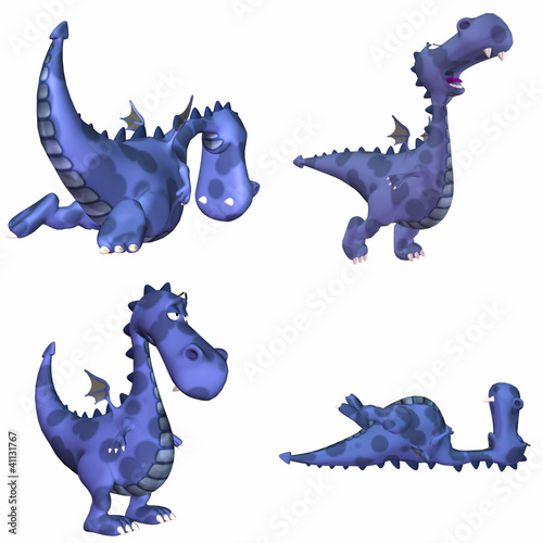 Blue Dragon Pack - 1of3