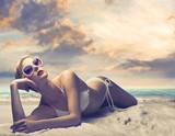 Fototapety Sunbathe