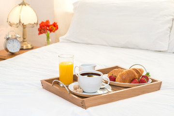 Breakfast Served In Bed