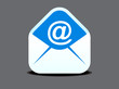 abstract mail icon