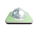 bathroom scale tray poster