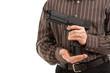 Hands reload pistol