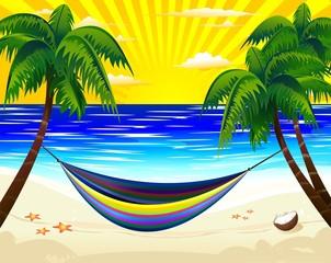 Relax-Amaca in Spiaggia Esotica-Hammock on Tropical Beach