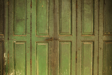 The old styled door